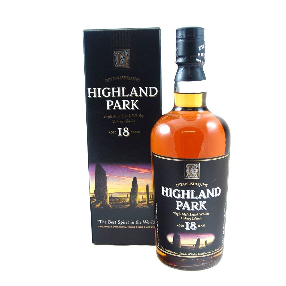 HIGHLAND PARK 18YR VIKING PRIDE SINGLE MALT 750ML