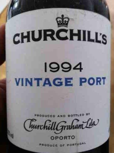 CHURCHILLS VINTAGE PORT 1994 1.50LT