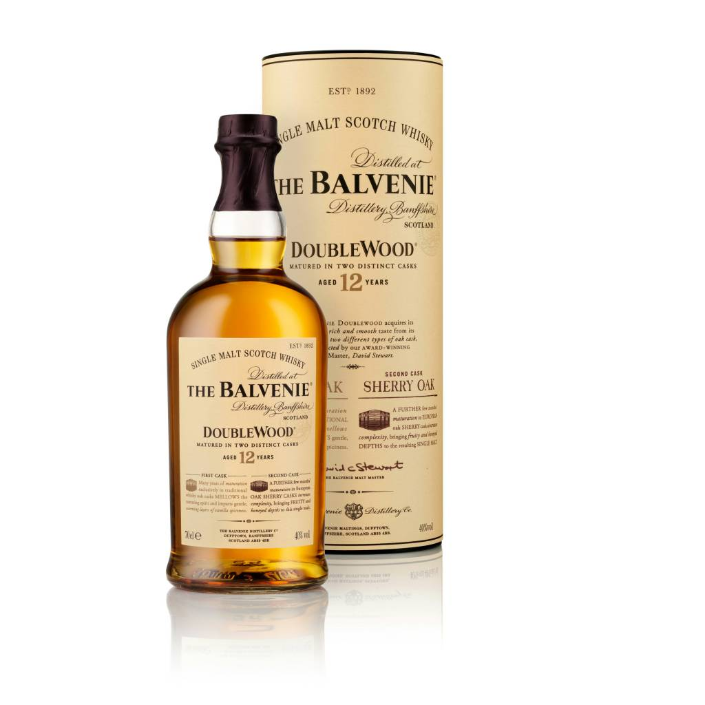 BALVENIE 12YR DOUBLEWOOD SINGLE MALT SCOTCH 750ML