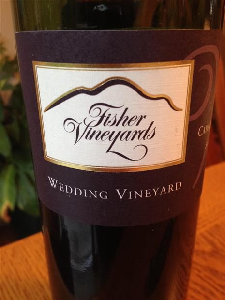 FISHER WEDDING VINEYARD CABERNET SAUVIGNON 1994 750ML