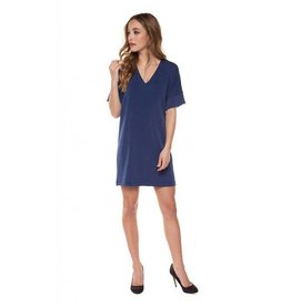 V-Neck Tunic Dress SS