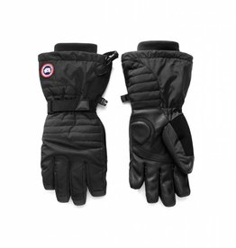 CANADA GOOSE Down Gloves Black Womens