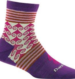 DARN TOUGH Darn Tough Swirl Print Shorty Sock Womens