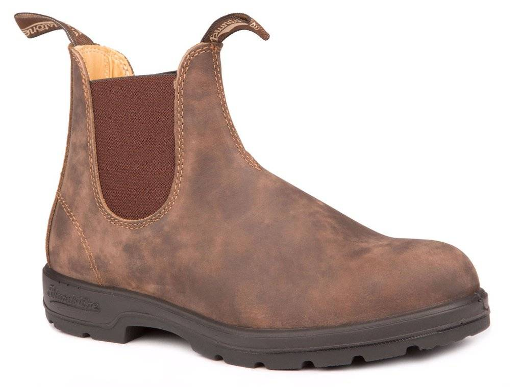 BLUNDSTONE Blundstone 1306 - The Chisel Toe in Rustic Brown