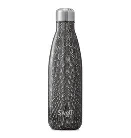 S'well Black Crocodile Bottle