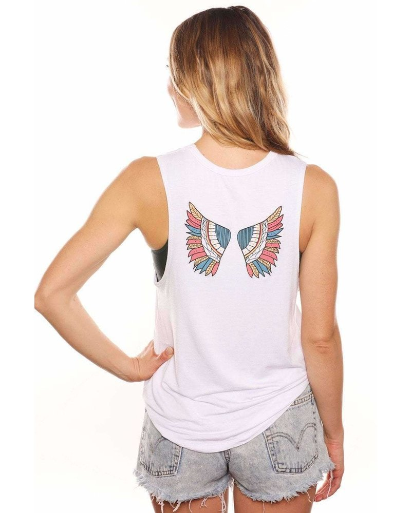 Gut Feelings Are Guardian Angels Tank Top