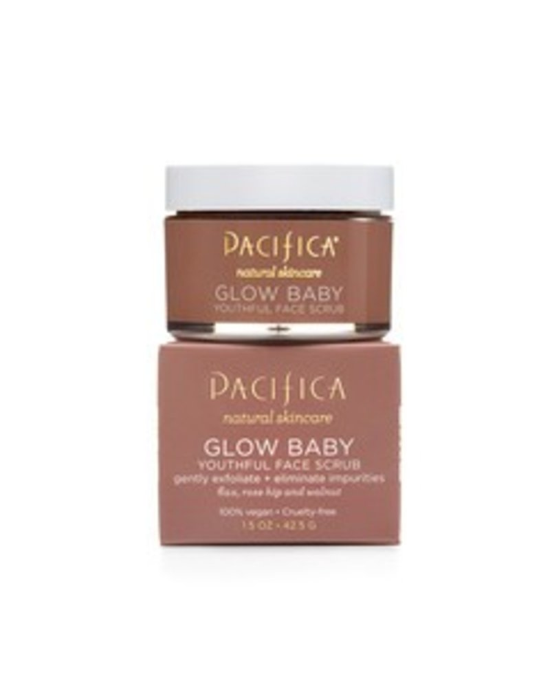 Pacifica Glow Baby Youthful Face Scrub 1.5 oz
