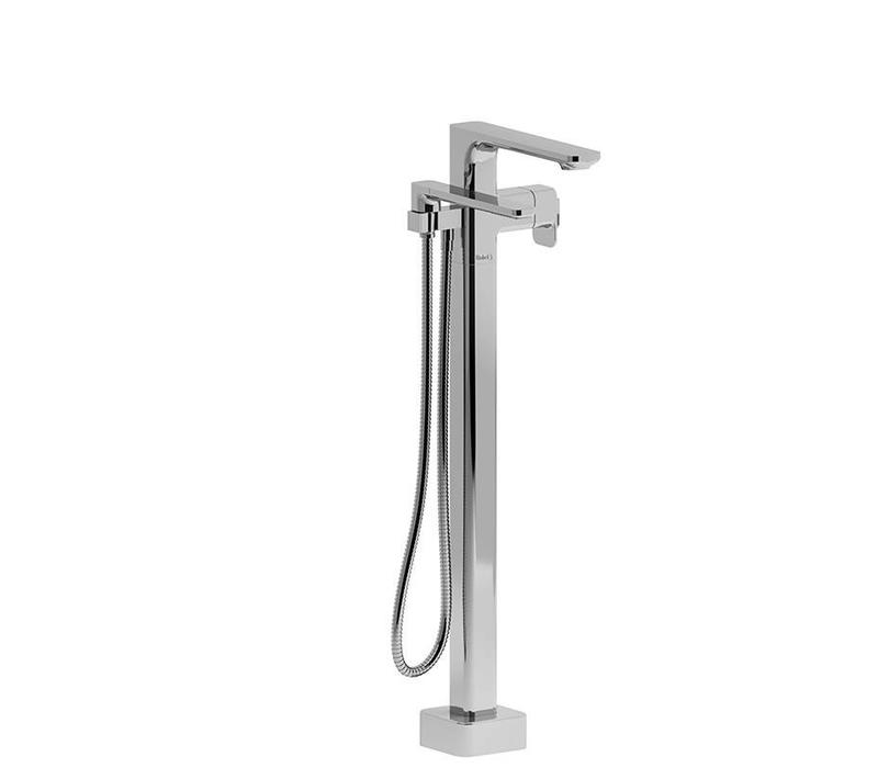 Riobel - Equinox - floor-mount tub filler with hand shower
