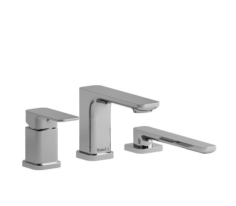 Riobel - Equinox - 3-Piece Deckmount Tub Filler