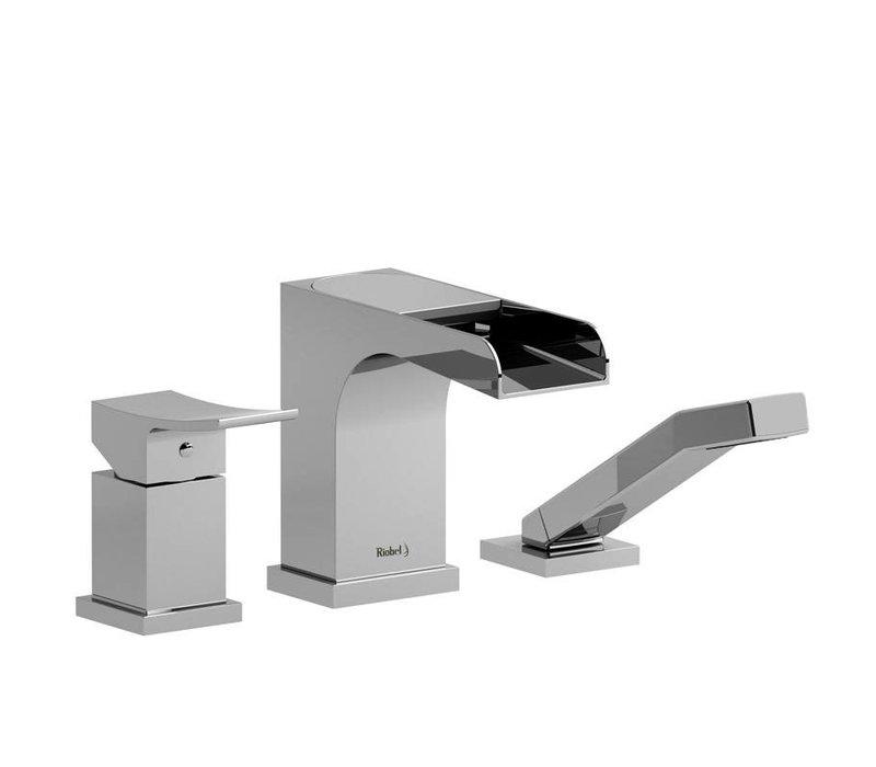 Riobel - Zendo - 3-Piece Deckmount Tub Filler - ZOOP16