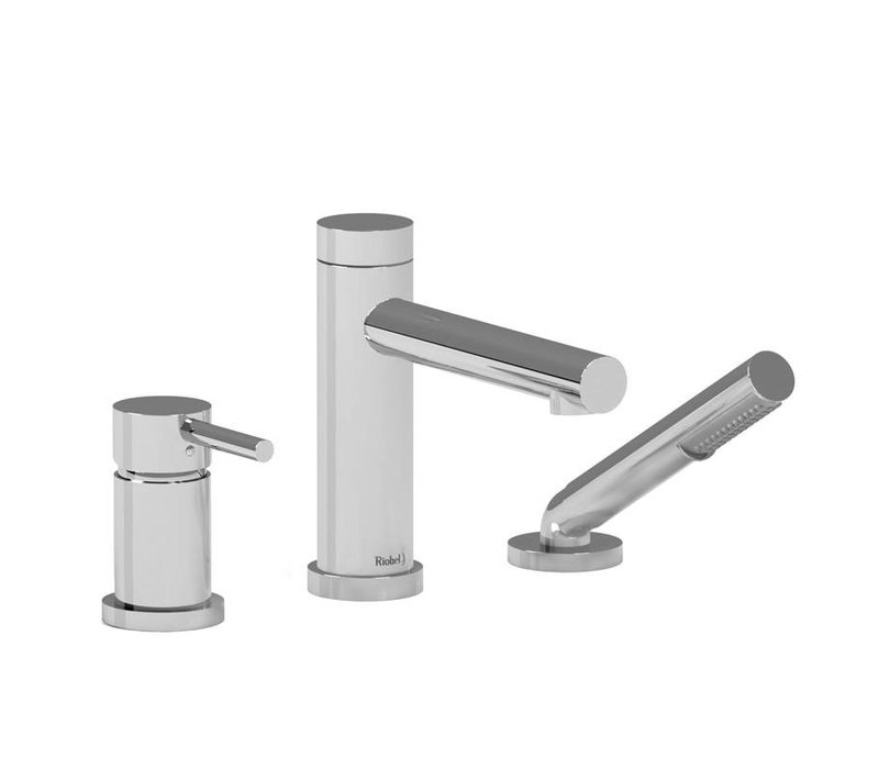 Riobel - GS - 3-Piece Deckmount Tub Filler