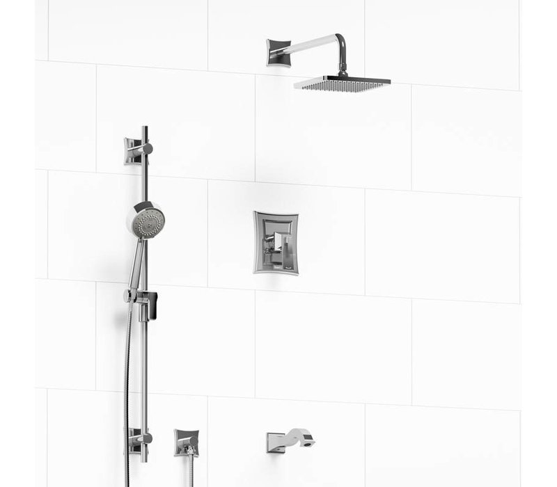 Riobel - Eiffel - Shower System - KIT#1345EF