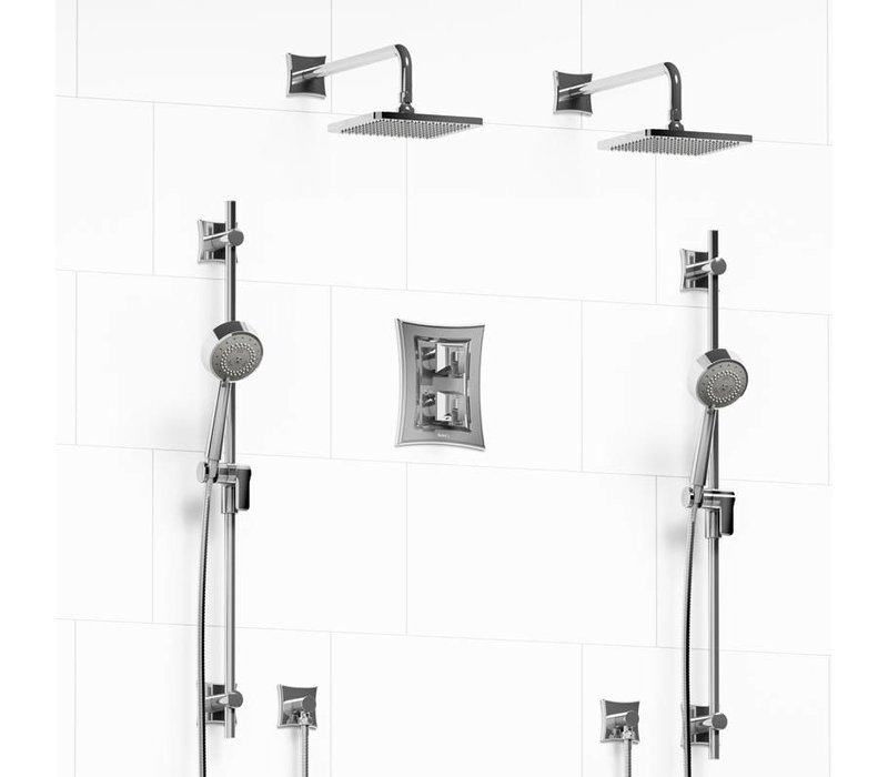 Riobel - Eiffel - Shower System - KIT#1546EF