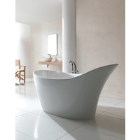 Victoria + Albert - Amalfi - freestanding slipper tub with overflow - AML-N-SW-OF