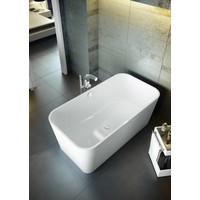 Victoria + Albert - Edge - freestanding tub with overflow