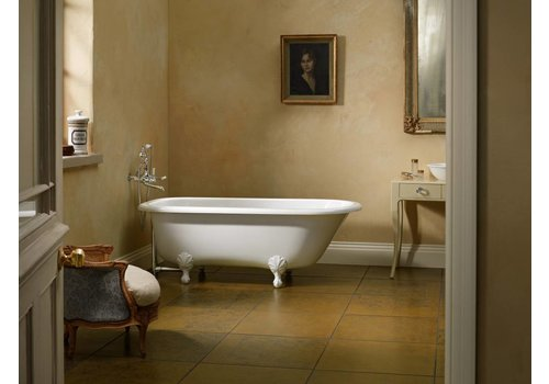 Victoria + Albert Victoria + Albert - Hampshire - freestanding tub with overflow. Polished Chrome Ball & Claw feet