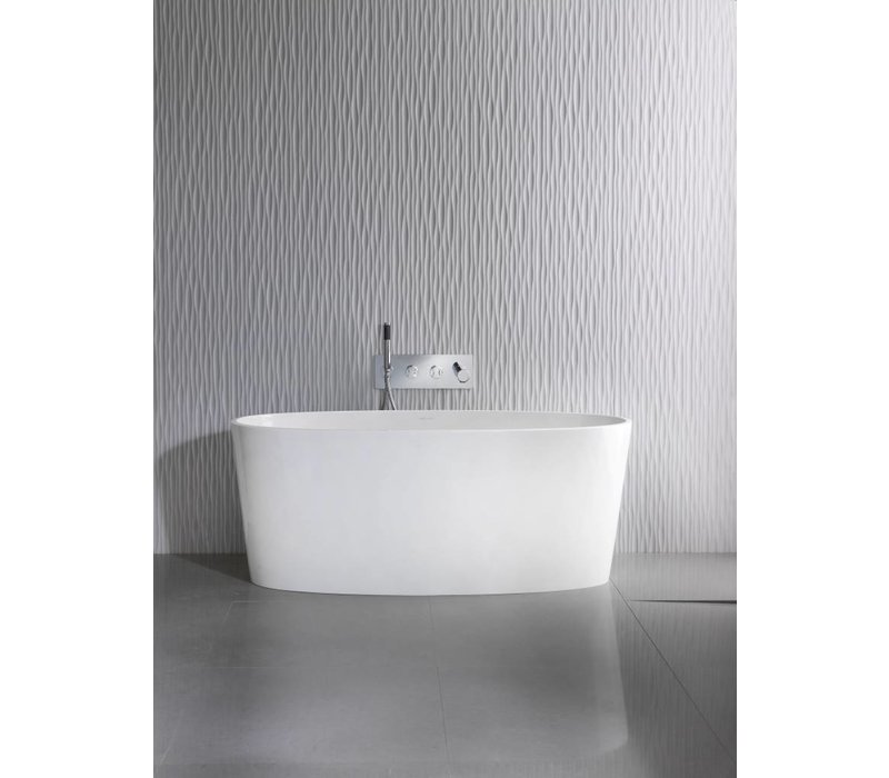 Victoria + Albert - ios - freestanding sit tub with overflow