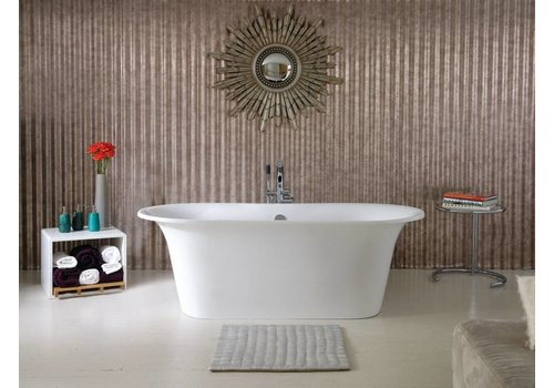 Victoria + Albert Victoria + Albert - Monaco - one piece freestanding tub with overflow
