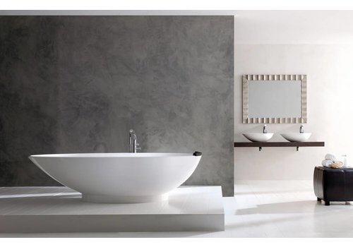 Victoria + Albert Victoria + Albert - Napoli - freestanding 'egg-shaped' tub with overflow on right side