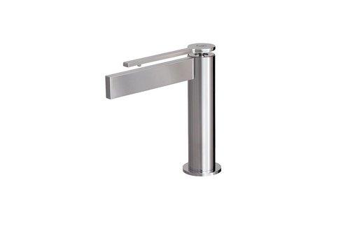 Aquabrass Aquabrass - Time - Single-hole Lav Faucet - Short handle - 51114 + 51473 Chrome