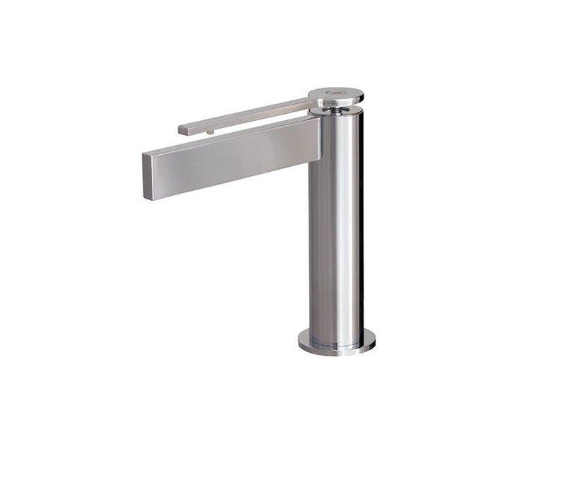Aquabrass - Time - Single-hole Lav Faucet - Short handle - 51114 + 51473 Chrome