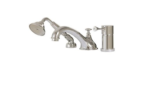 Aquabrass Aquabrass - Regency - 3PC Tub Filler W/Handshower - 07313