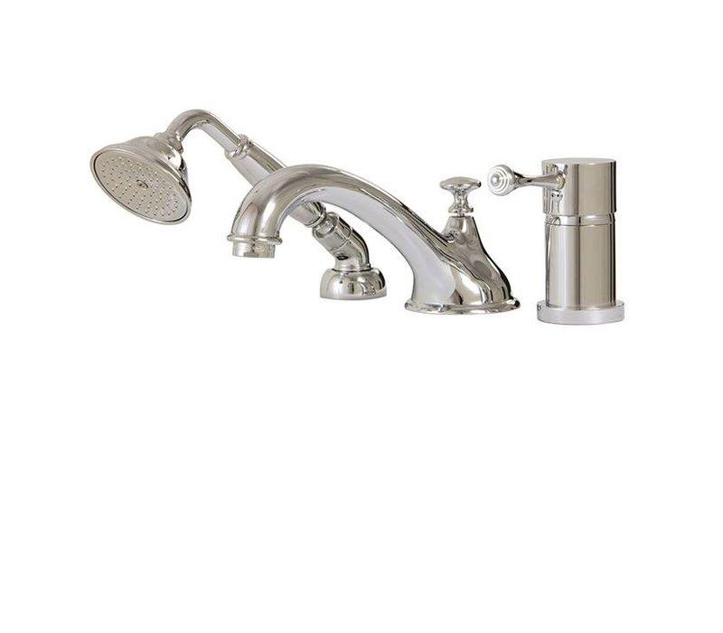 Aquabrass - Regency - 3PC Tub Filler W/Handshower - 07313