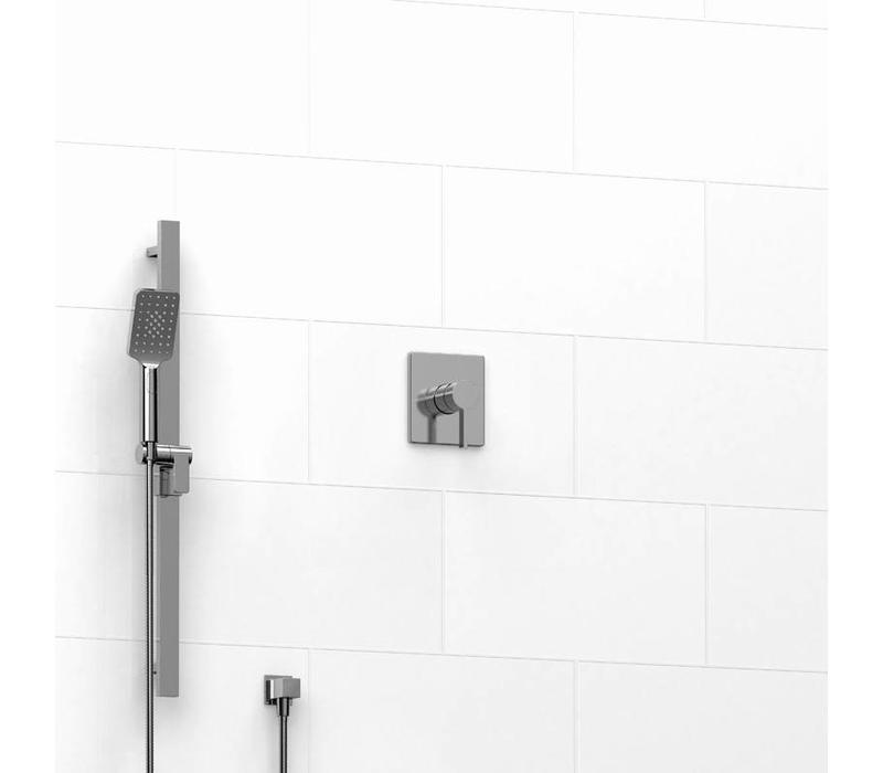 Riobel - Paradox - Square - Pressure balance shower system