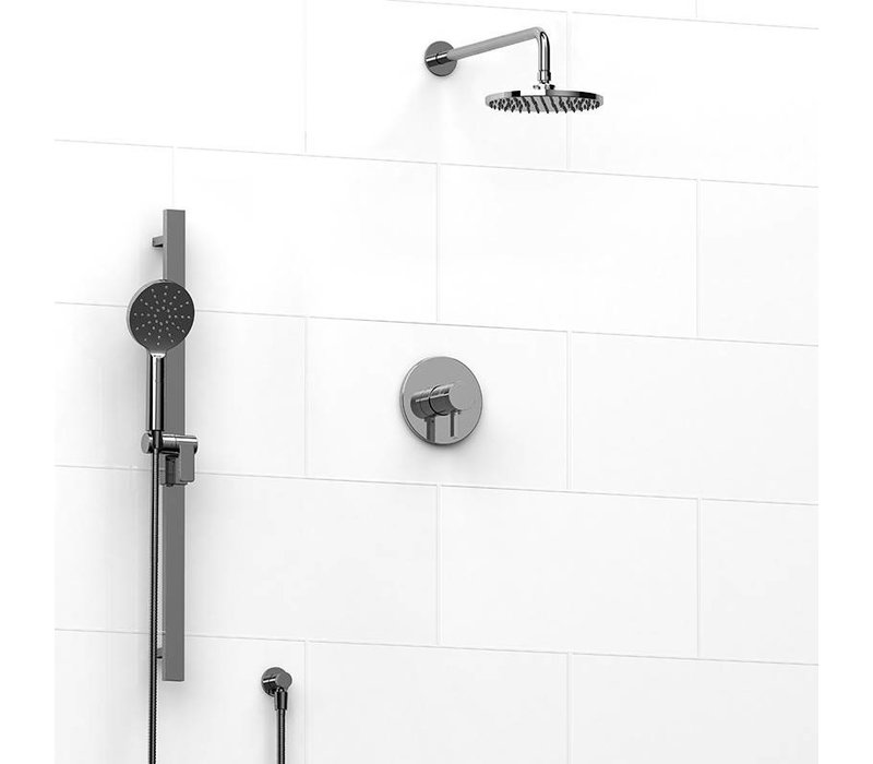 Riobel - Paradox - round - two function shower system