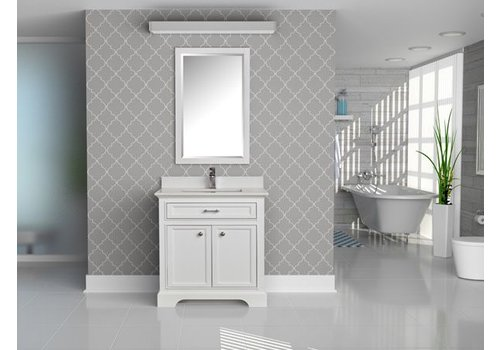 Tidal Tidal - Camden Series - Dove White - Chrome
