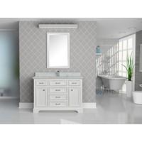 Tidal - Camden Series - Dove White - Chrome