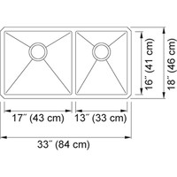 Franke - Techna Series - Undermount Combination - TCX160-31RH
