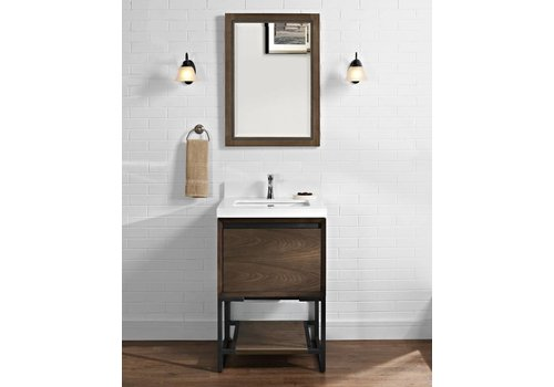 "Fairmont Design's Fairmont Design's - M4 24"" Vanity - Natural Walnut - Natural Walnut - 1505-V24"