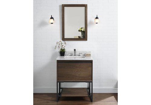 "Fairmont Design's Fairmont - M4 - Natural Walnut 30"" Vanity"