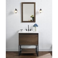 "Fairmont - M4 - Natural Walnut 30"" Vanity"