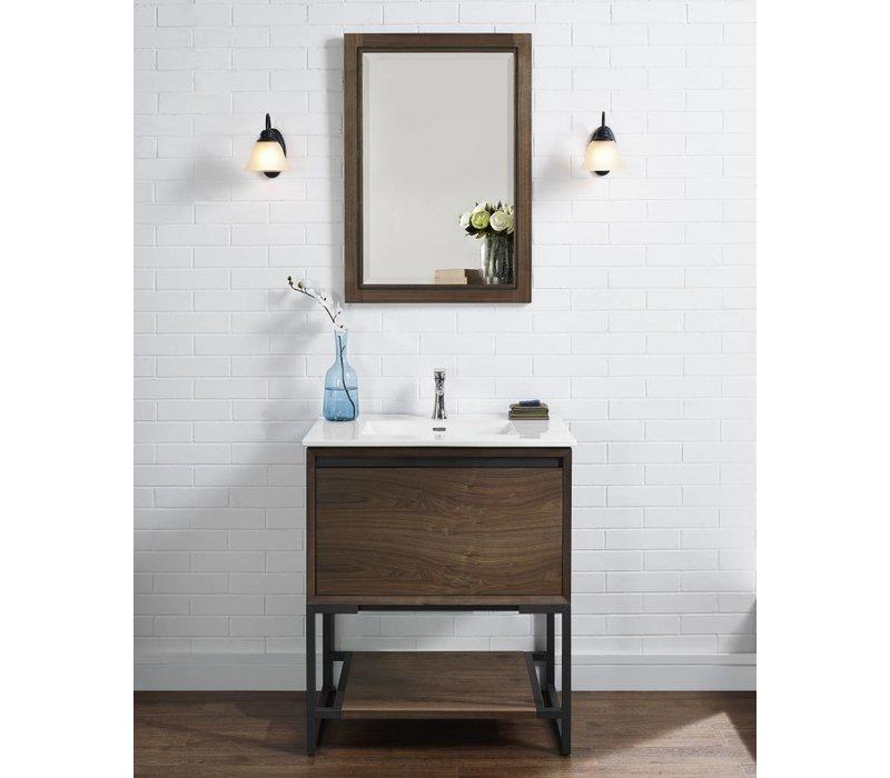 "Fairmont Design's - M4 30"" Vanity - Natural Walnut - Natural Walnut - 1505-V30"