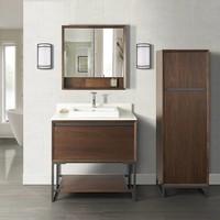 "Fairmont Design's - M4 36"" Vanity - Natural Walnut - Natural Walnut - 1505-V36"