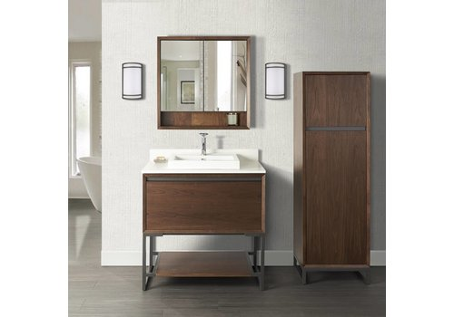 "Fairmont Design's Fairmont Design's - M4 - 36"" Vanity - Natural Walnut - 1505-V36"