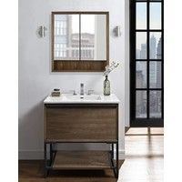 "Fairmont - M4 - Natural Walnut 36"" Vanity"