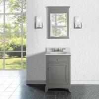 """Fairmont Design's - Smithfield 24"""" Vanity - Medium Gray - Medium Gray - 1504-V24"""