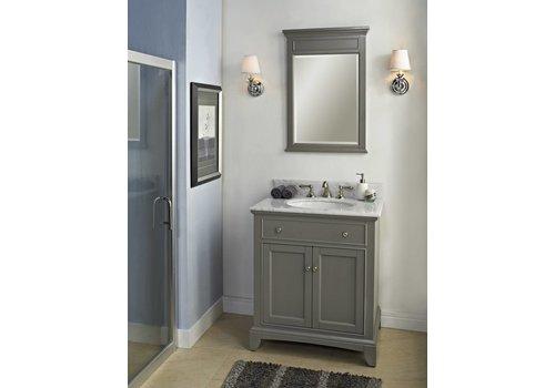 "Fairmont Design's Fairmont Design's - Smithfield 30"" Vanity - Medium Gray - Medium Gray - 1504-V30"