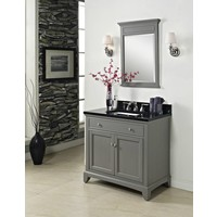 "Fairmont Design's - Smithfield - 36"" Vanity - Medium Gray - 1504-V36"