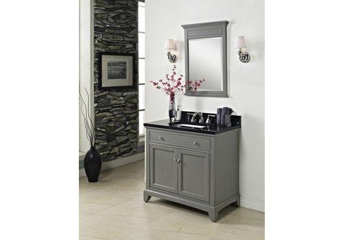 """Fairmont Design's Fairmont - Smithfield - Med Gray 36"""" Vanity"""