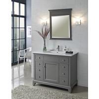 """Fairmont Design's - Smithfield 42"""" Vanity - Medium Gray - Medium Gray - 1504-V42"""