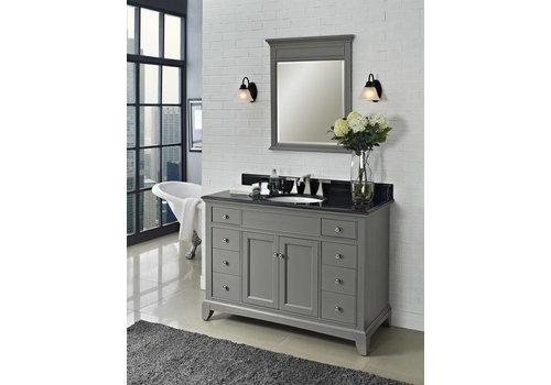"""Fairmont Design's Fairmont - Smithfield - Med Gray 48"""" Vanity"""