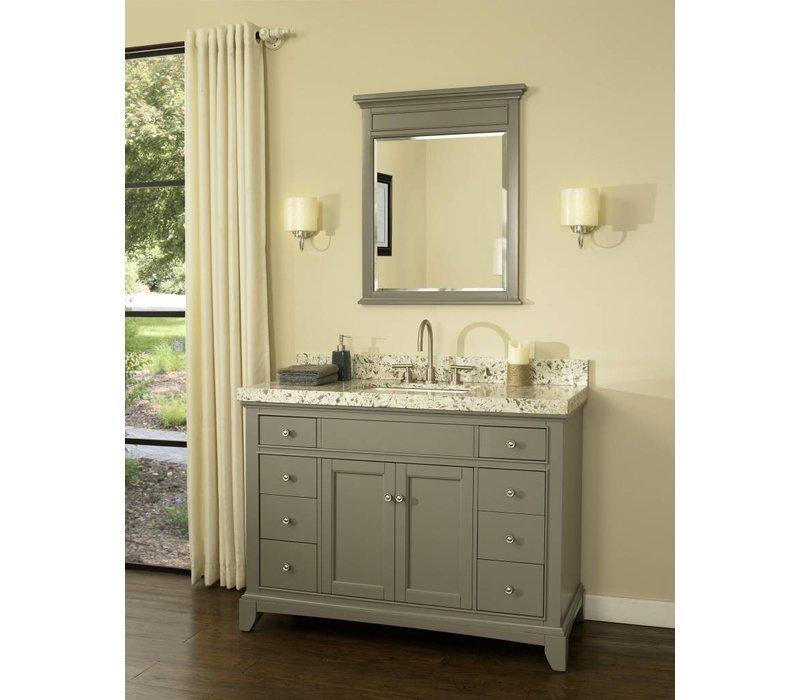 """Fairmont Design's - Smithfield 48"""" Vanity - Medium Gray - Medium Gray - 1504-V48"""
