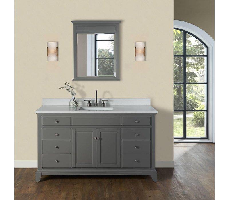 "Fairmont Design's - Smithfield - 60"" Vanity - Medium Gray - 1504-V60"