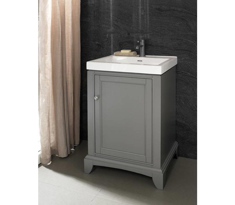 """Fairmont Design's - Smithfield 21x18"""" Vanity - Medium Gray - Medium Gray - 1504-V2118"""