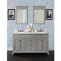 "Fairmont Design's - Smithfield - 60"" Double Bowl Vanity - Medium Gray - 1504-V6021D"