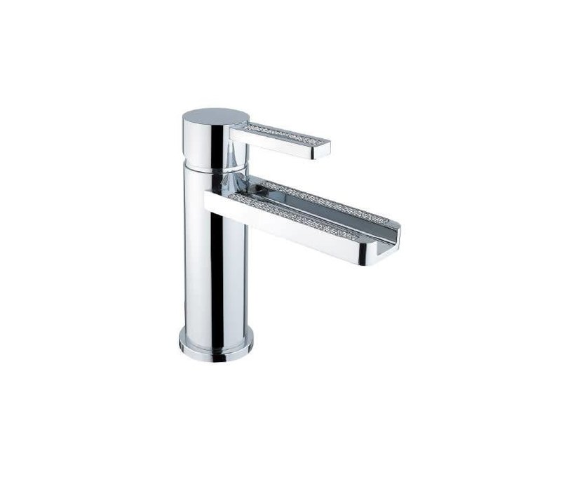 Disegno -  Aqua - Crystal - Single Hole Faucet